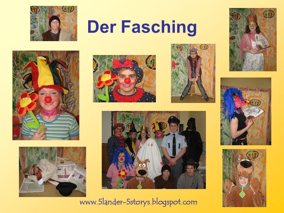www.5lander-5storys.blogspot.com Der Fasching