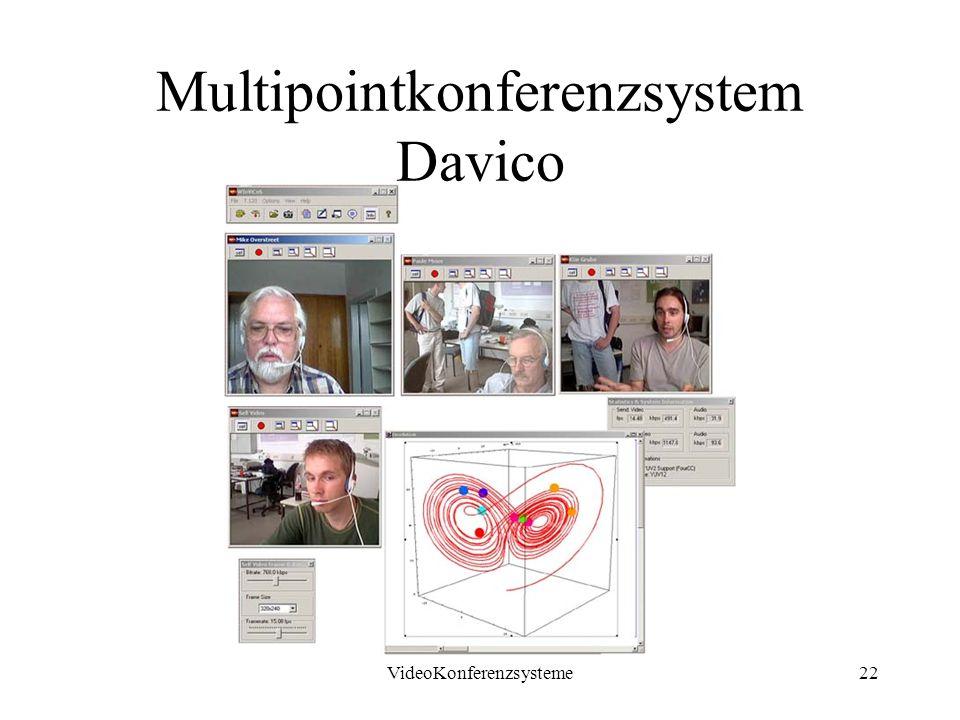 VideoKonferenzsysteme22 Multipointkonferenzsystem Davico
