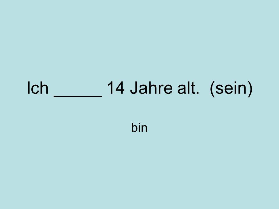 Wann _______ du Englisch? (haben) hast