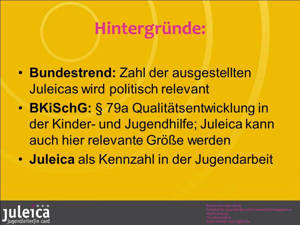 Bayerischer Jugendring Referent für Jugendringe und Ehrenamtliches Engagement Martin Holzner Tel: 089/51458-36 Email: holzner.martin@bjr.de Zeitplan: Beschluss im Landesvorstand 09/2013 Befassung Gem.