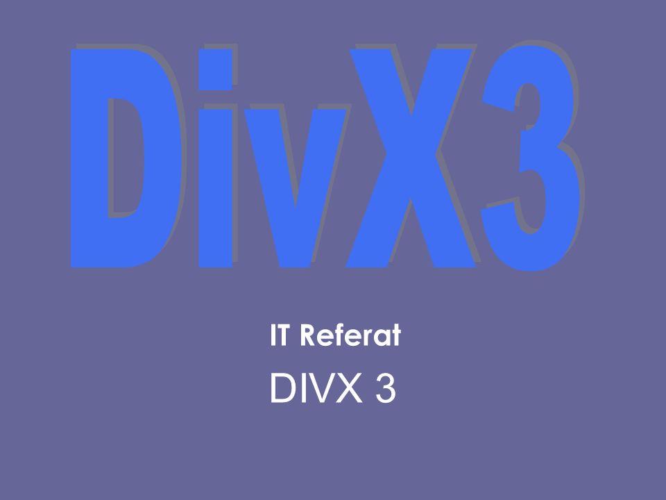 IT Referat DIVX 3