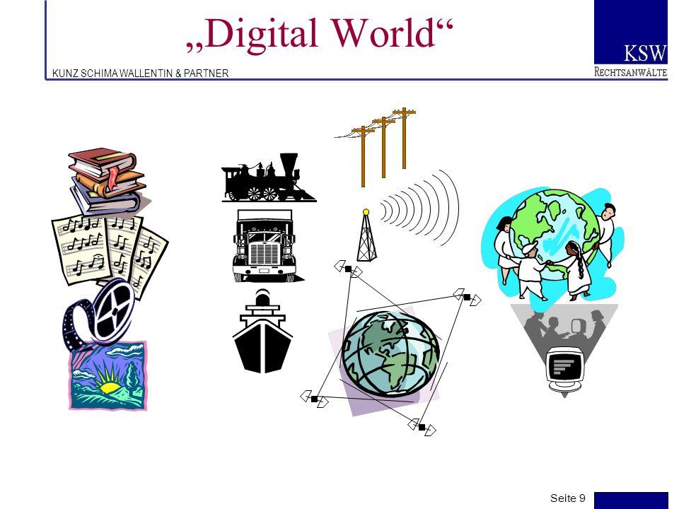 KUNZ SCHIMA WALLENTIN & PARTNER Digitales Filmschaffen (4) Digitale Nutzungsbereiche –Kino (D-Cinema, hochauflösende Projektoren) –TV (terrestrisch, K