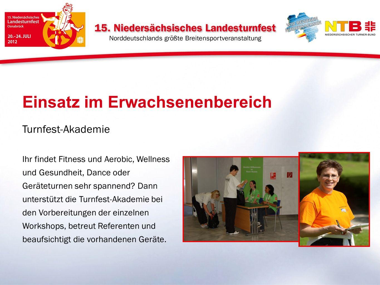 Turnfest-Akademie Ihr findet Fitness und Aerobic, Wellness und Gesundheit, Dance oder Geräteturnen sehr spannend.