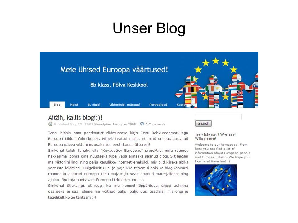 Unser Blog