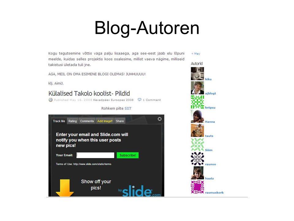 Blog-Autoren