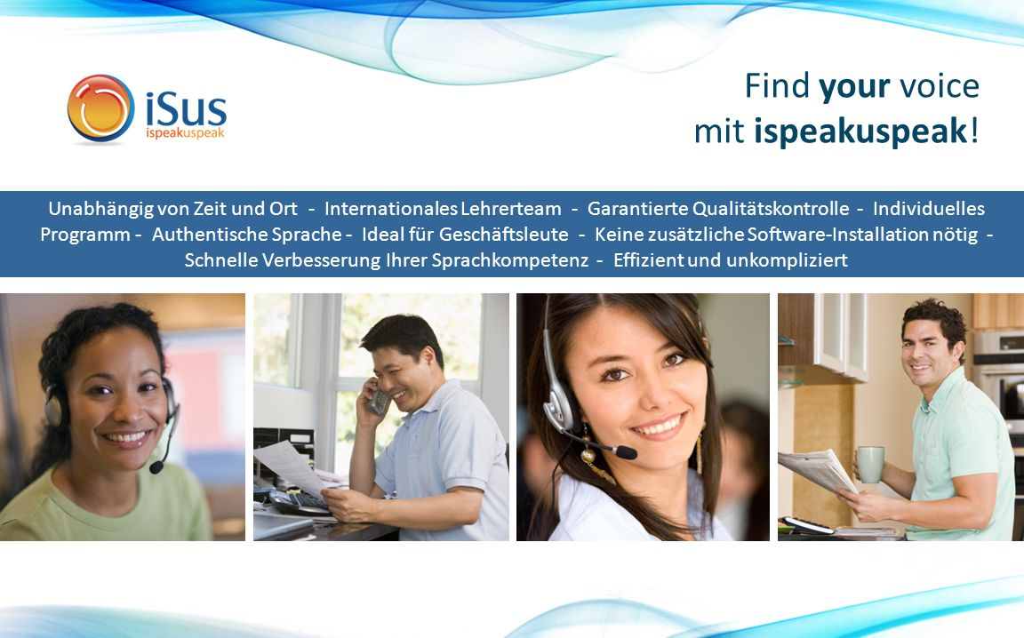 Find your voice mit ispeakuspeak.