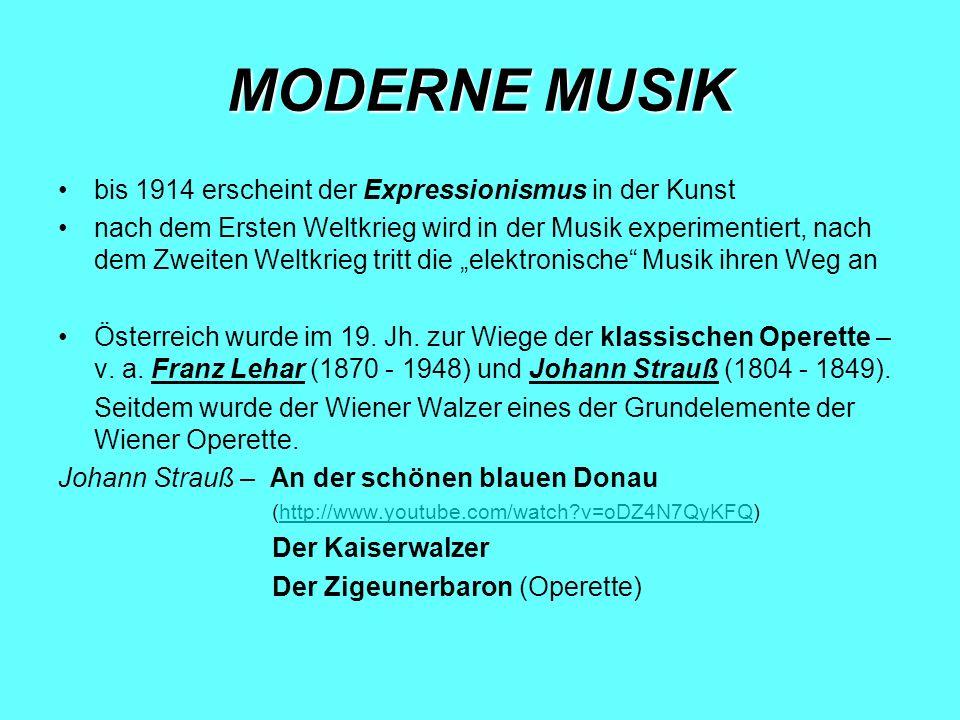 GEGENWART Die als Neue Deutsche Welle bezeichnete Etablierung einer eigenständigen, auch international erfolgreichen deutschen Pop- und Rockmusik fand Anfang der 1980er- Jahre durch Interpreten wie Nena ihren kommerziellen Höhepunkt.