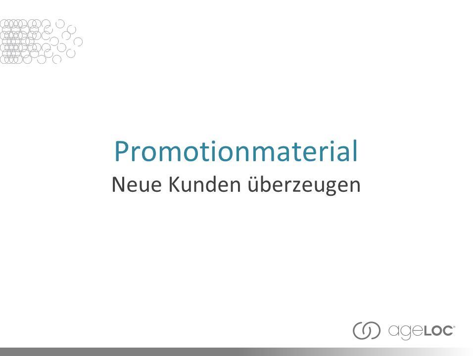 Promotionmaterial Neue Kunden überzeugen