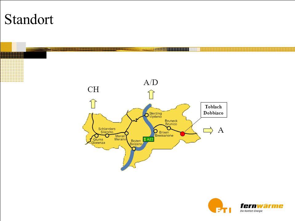 Fernheizwerke in Südtirol 28 Heizwerke 100.000 kW installierte Leistung Biomasse-Kessel 8.000 Anschlüsse 400 Mio.