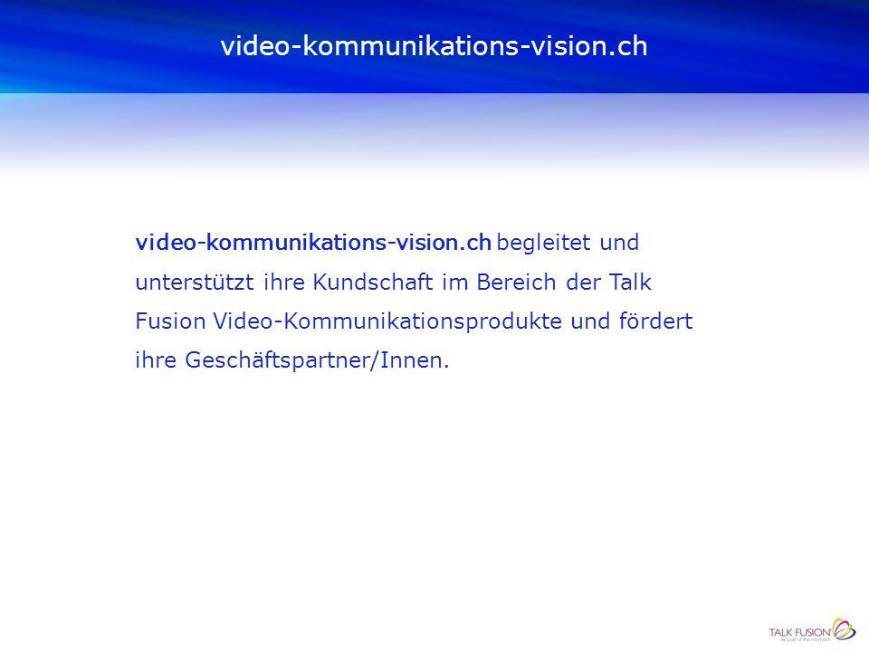 Talk Fusion ist ein respektiertes Unternehmen, das seine eigene Video-Kommunikationstechnologie entwickelt und seine Produkte durch selbständige GeschäftspartnerInnen vermarktet.
