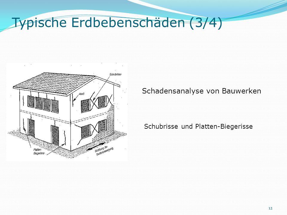 Schadensanalyse von Bauwerken Schubrisse und Platten-Biegerisse 12