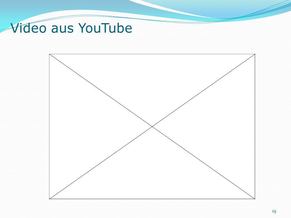 Video aus YouTube 19