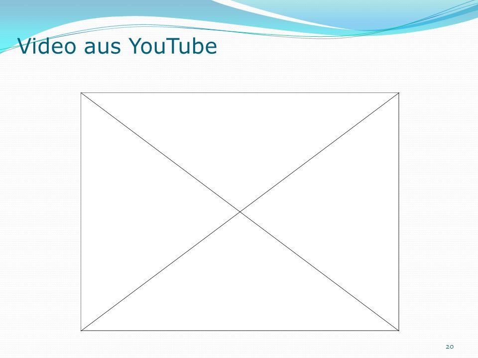 Video aus YouTube 20