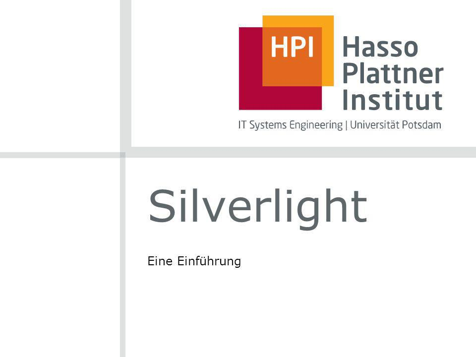 Silverlight Eine Einführung