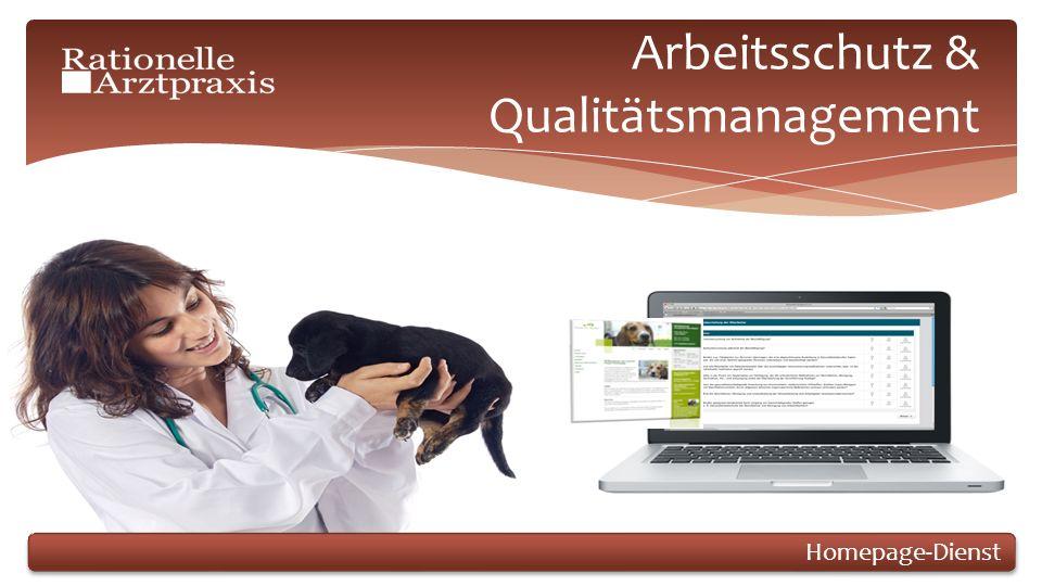 Arbeitsschutz & Qualitätsmanagement Homepage-Dienst
