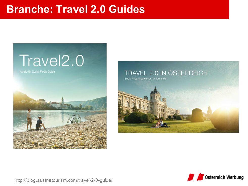 Branche: Travel 2.0 Guides http://blog.austriatourism.com/travel-2-0-guide/