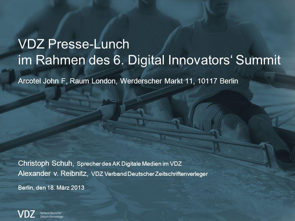 Die neue Online Gattungsinitiative PrimeSite Presse-Lunch DIS, 18. März 2013 2