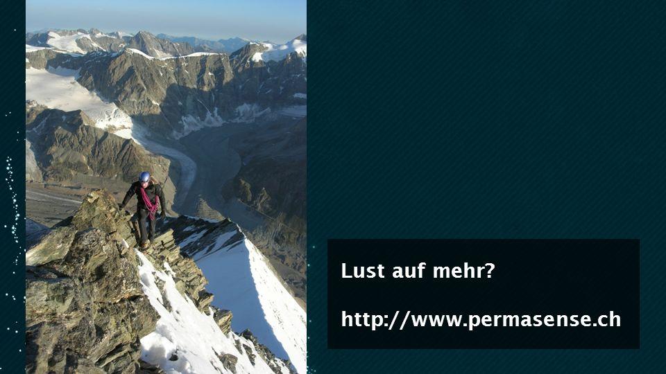 Lust auf mehr? http://www.permasense.ch