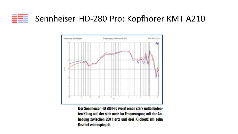 Sennheiser HD-280 Pro: Kopfhörer KMT A210