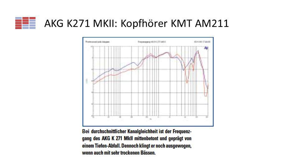 AKG K271 MKII: Kopfhörer KMT AM211