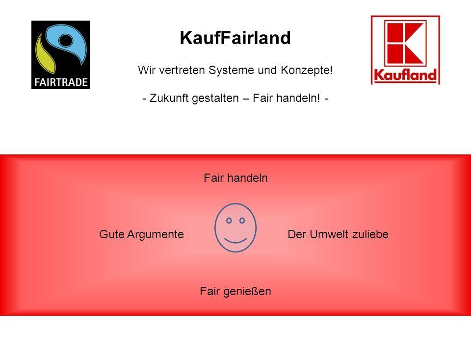 KaufFairland Wir vertreten Systeme und Konzepte.- Zukunft gestalten – Fair handeln.