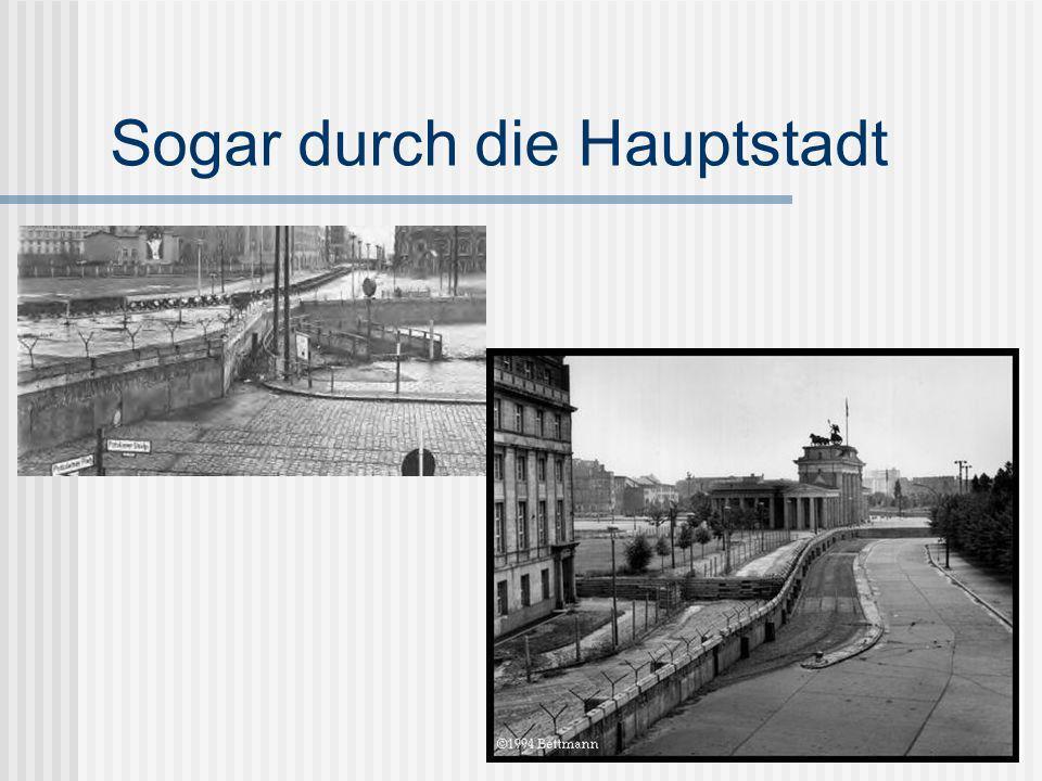 Hatten die Ostdeutsche Zeit, Ostdeutschland zu verlassen.