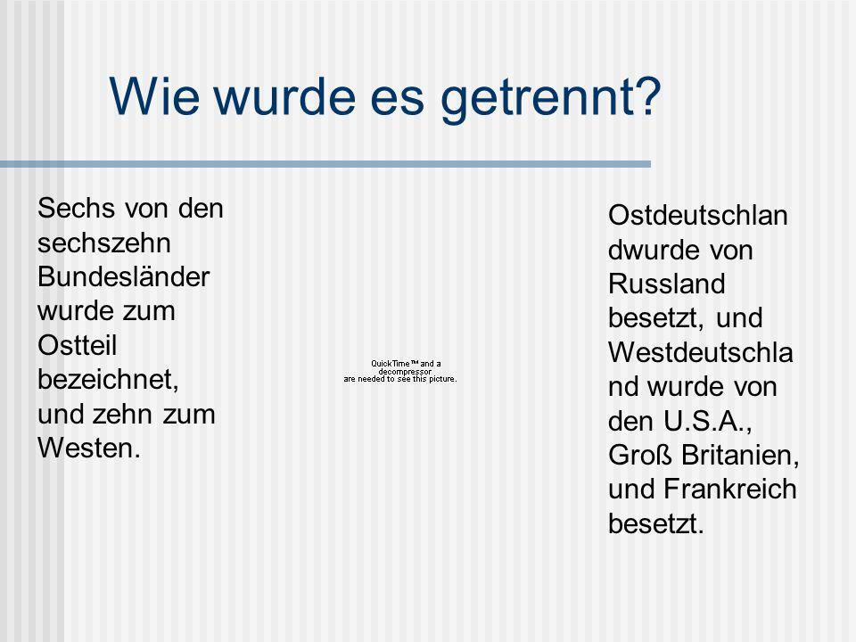 Es gab dann die BRD und die DDR Die Bundes Republik Deutschland Die Deutsche Demokratische Republik Links: Theodor Heuss- BRD 1949-1959 Rechts: Wilhelm Piek- DDR 1949-1960
