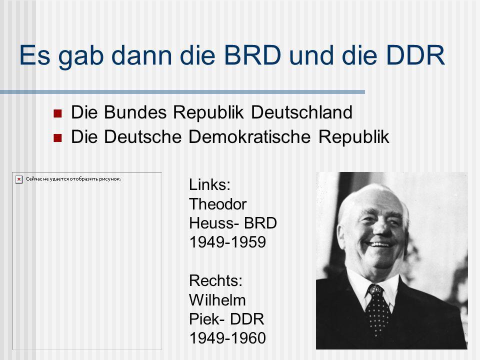 BRD.DDR. Was bedeutet das.