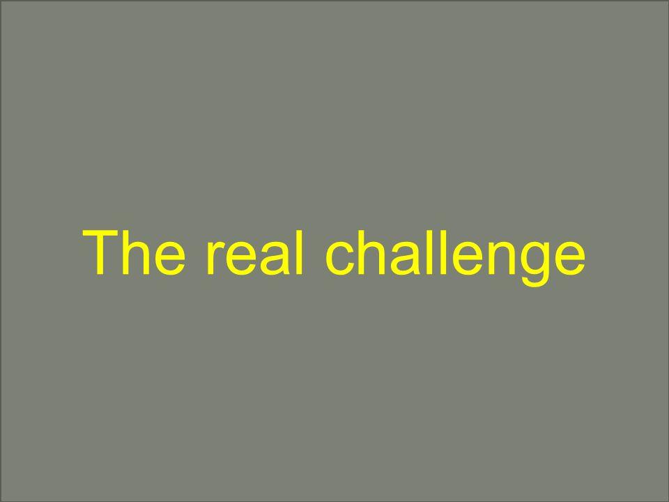 © OptiMedis AG The real challenge