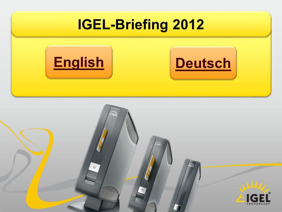 IGEL-Briefing 2012 English Deutsch