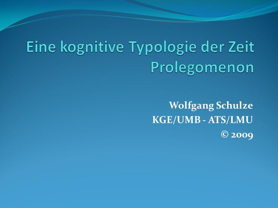 Wolfgang Schulze KGE/UMB - ATS/LMU © 2009