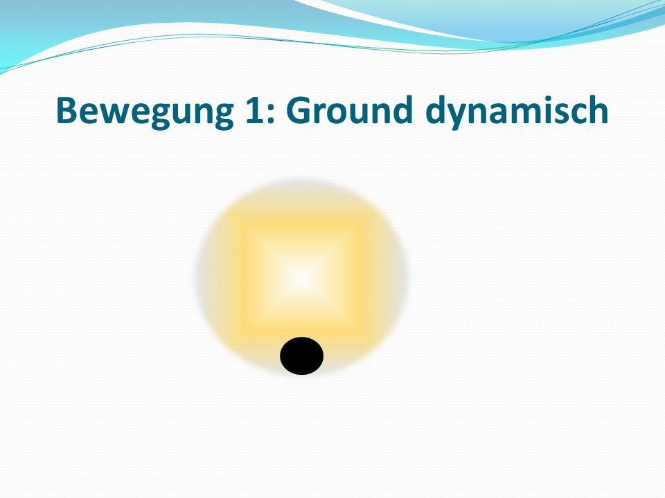 Bewegung 1: Ground dynamisch