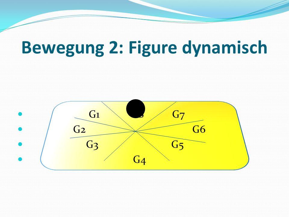 Bewegung 2: Figure dynamisch G1 G8 G7 G2 G6 G3 G5 G4