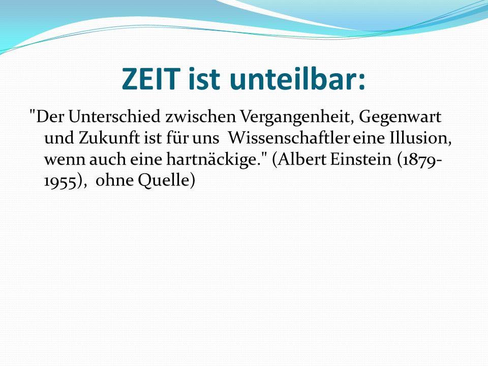 Die Begrifflichkeit der Zeit-Stufen Vergangenheit: Lehnübersetung aus lat.