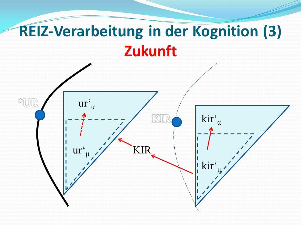 REIZ-Verarbeitung in der Kognition (3) Zukunft