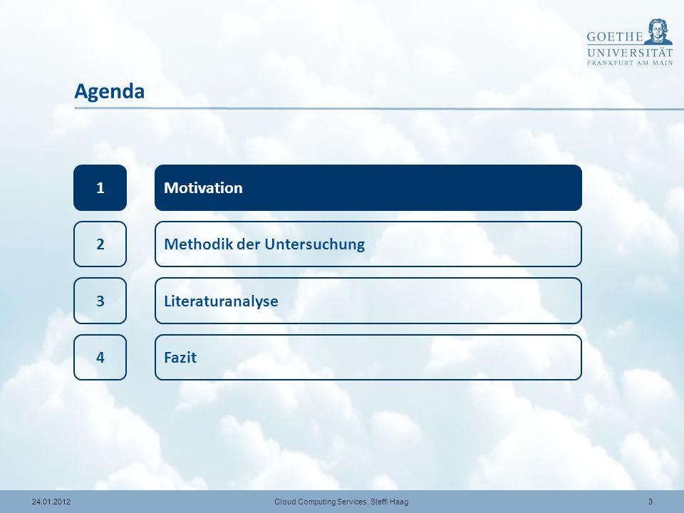 1424.01.2012 Lesen und Kategorisierung Cloud Computing Services, Steffi Haag 37 Artikel