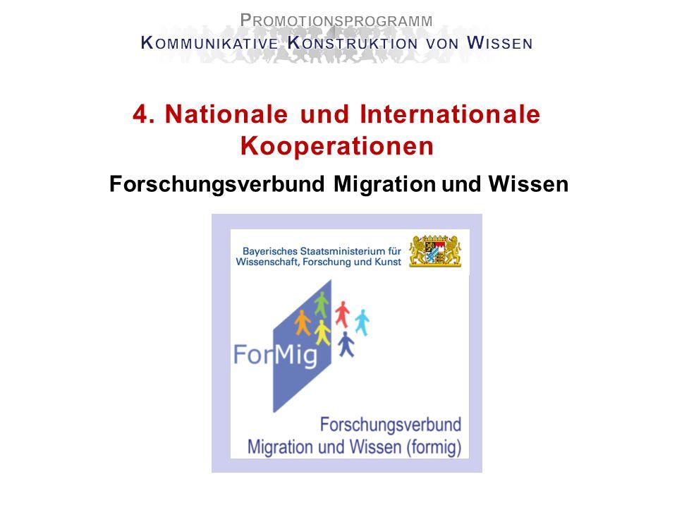 4.Nationale und Internationale Kooperationen Kooperationspartner Prof.