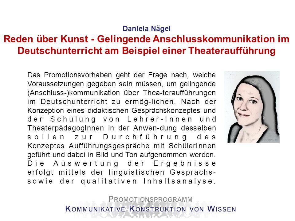 Nina Tinter Literaturgeschichte im Deutschunterricht Schwerpunkt meiner Promotionsarbeit ist die Ver-mittlung des Gegenstandes der Literaturgeschichte im gymnasialen Deutschunterricht.