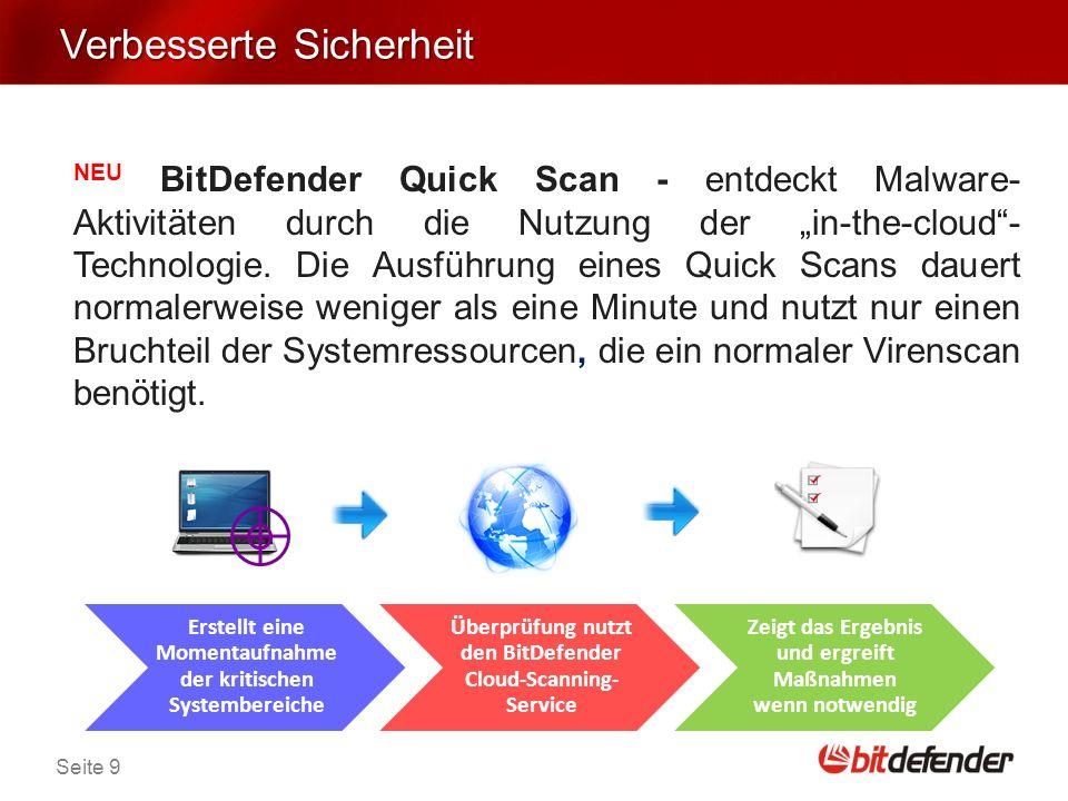 Seite 20 Berufliche Anwender Die Dateiverschlüsselung schützt vertraulichen Daten.