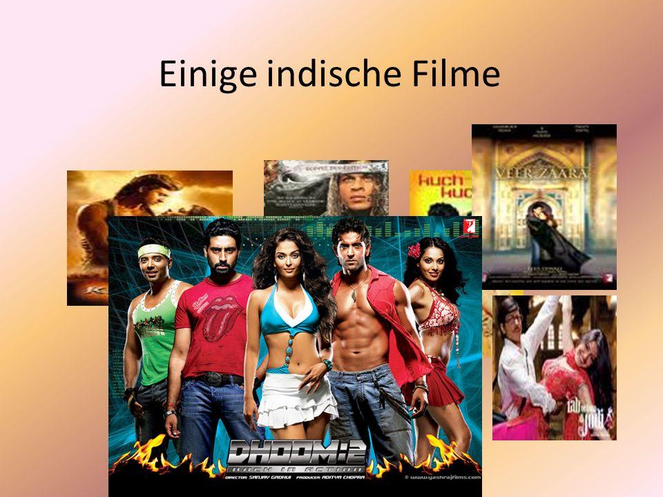 Über Bollywood Filmindustrie in Mumbai (früher Bombay),strebt Gewinne an Gleichgestellt mit Hollywood (amerikanische Filmindustrie) Entstehung des Nam