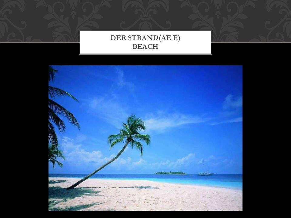 DER STRAND(AE E) BEACH