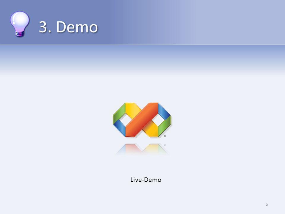 3. Demo 6 Live-Demo
