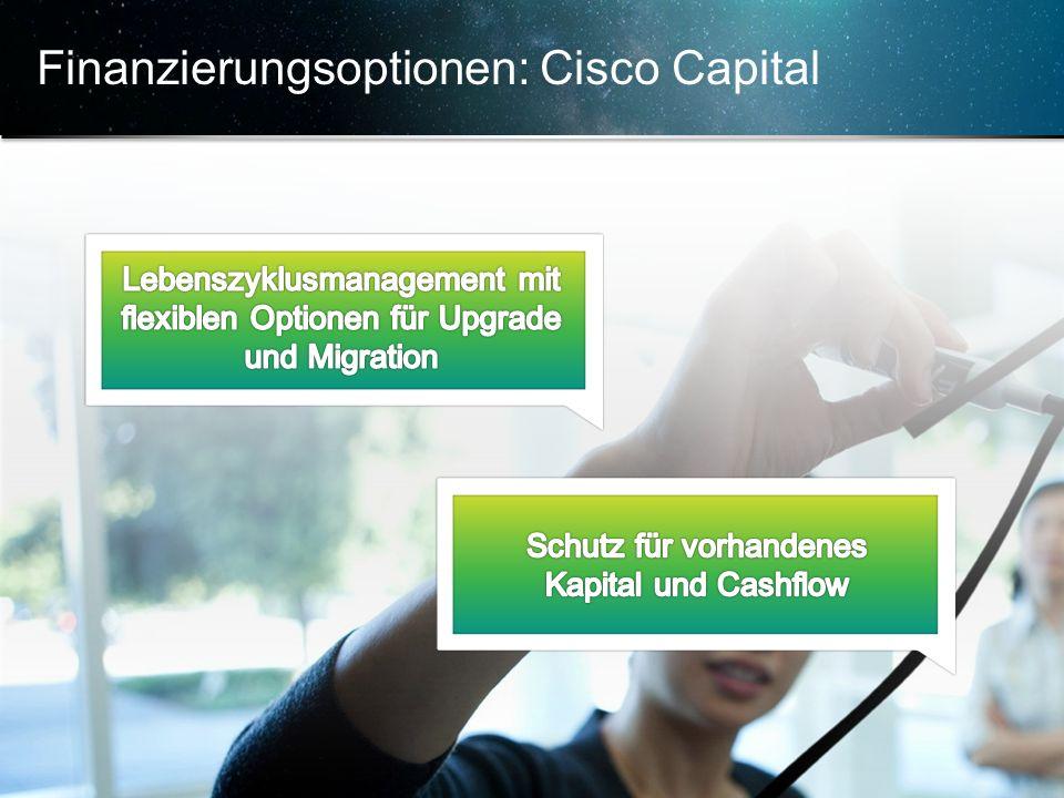 © 2013 Cisco und/oder Partnerunternehmen. Alle Rechte vorbehalten. Vertrauliche Informationen von Cisco 20 Finanzierungsoptionen: Cisco Capital