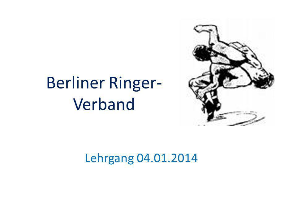 Berliner Ringer- Verband Lehrgang 04.01.2014