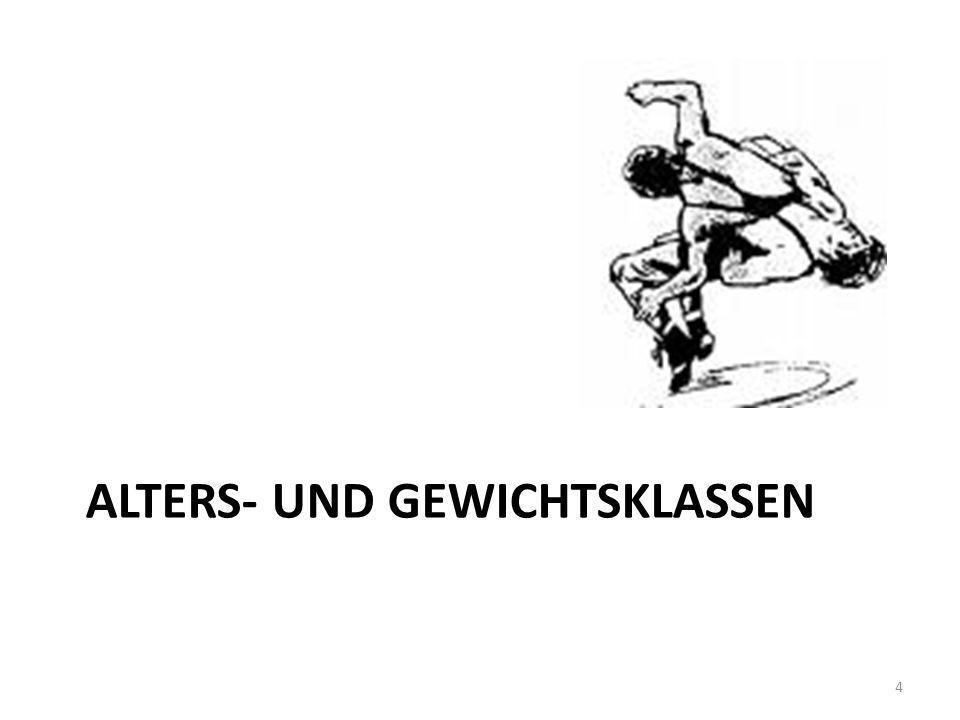 Altersklassen - männlich Männer1997 und älter Junioren1994 – 1997 A-Jugend1997 – 1999 B-Jugend2000 – 2001 C-Jugend2002 – 2003 D-Jugend2004 – 2005 E-Jugend2006 – 2008 (mind.