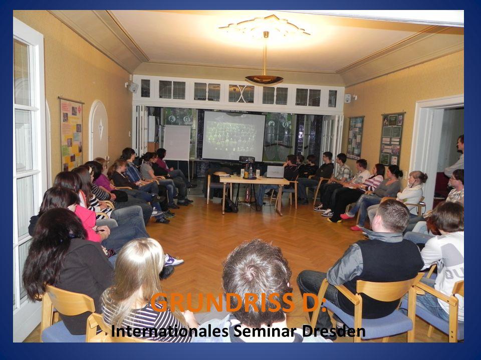Mezinárodní seminář nadace Most - Drážďany GRUNDRISS D: Internationales Seminar Dresden