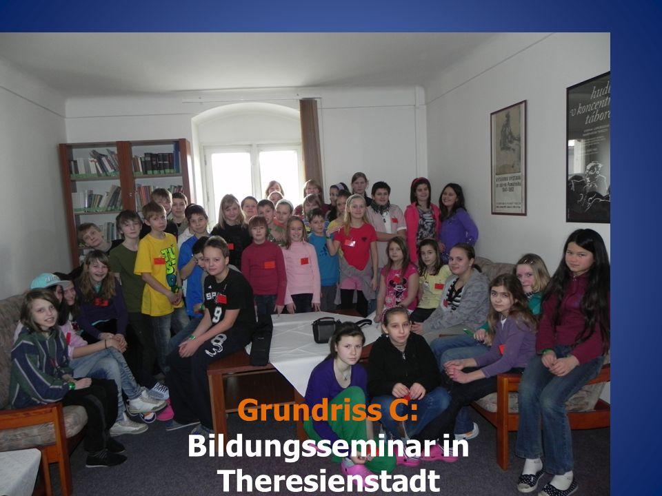 Grundriss C: Bildungsseminar in Theresienstadt