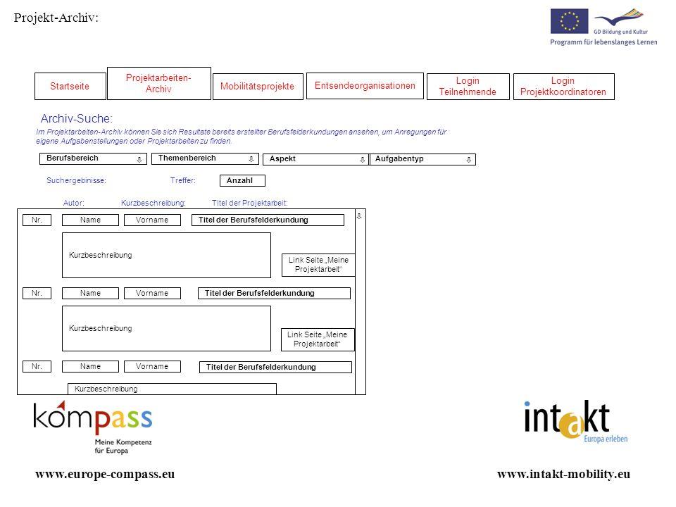 Administrator Projekt anlegen www.intakt-mobility.euwww.europe-compass.eu E-Mail: * Änderungen speichern Entsendeeinrichtung veröffentlichen Name Ihrer Einrichtung: * Profil Einrichtung Bitte beschreiben Sie bitte kurz das Profil Ihrer Einrichtung (max.