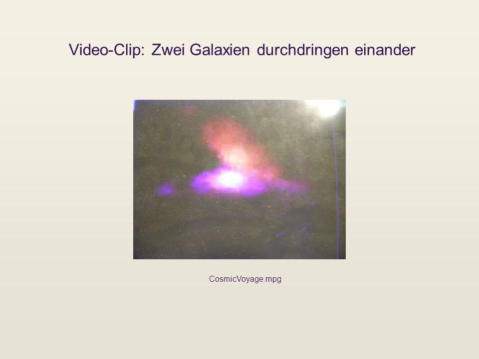 Video-Clip: Zwei Galaxien durchdringen einander CosmicVoyage.mpg