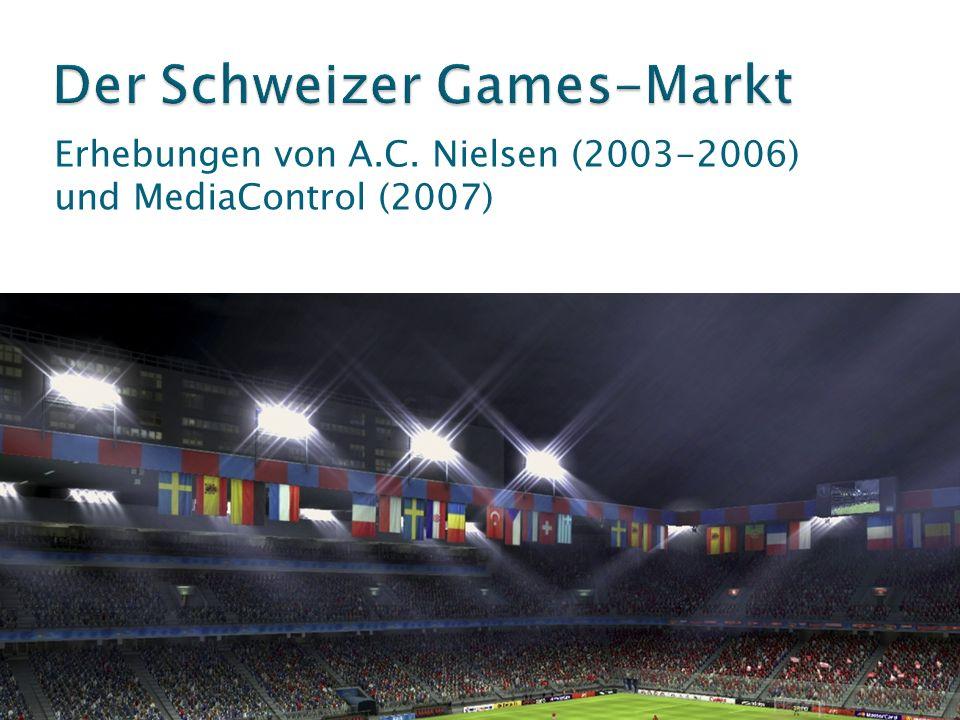 Erhebungen von A.C. Nielsen (2003-2006) und MediaControl (2007)